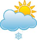 Lekkie opady śniegu