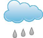 Umiarkowany deszcz