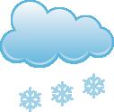 Umiarkowane opady śniegu