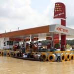Manaus, stacja paliw