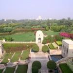 widok z pokoju hotelowego na taj mahal, indie