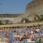 plaża na gran canarii
