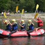 rafting, dunajec / polska-słowacja