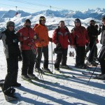 narty w górach skalistych, kanada