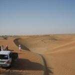 dune bashing, dubaj / ZEA