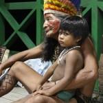 wioska indiańska, Amazonia