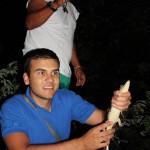 łowienie kajmanów, brazylia