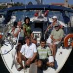incentive pod żaglami, morze egejskie / grecja