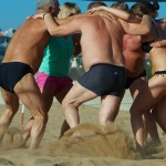 team building na plaży w maroku