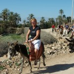 zwiedzanie kasby na osłach