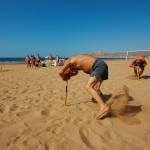 agadir / maroko - team building na plaży
