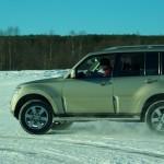 szkolenie samochodowe, rovaniemi