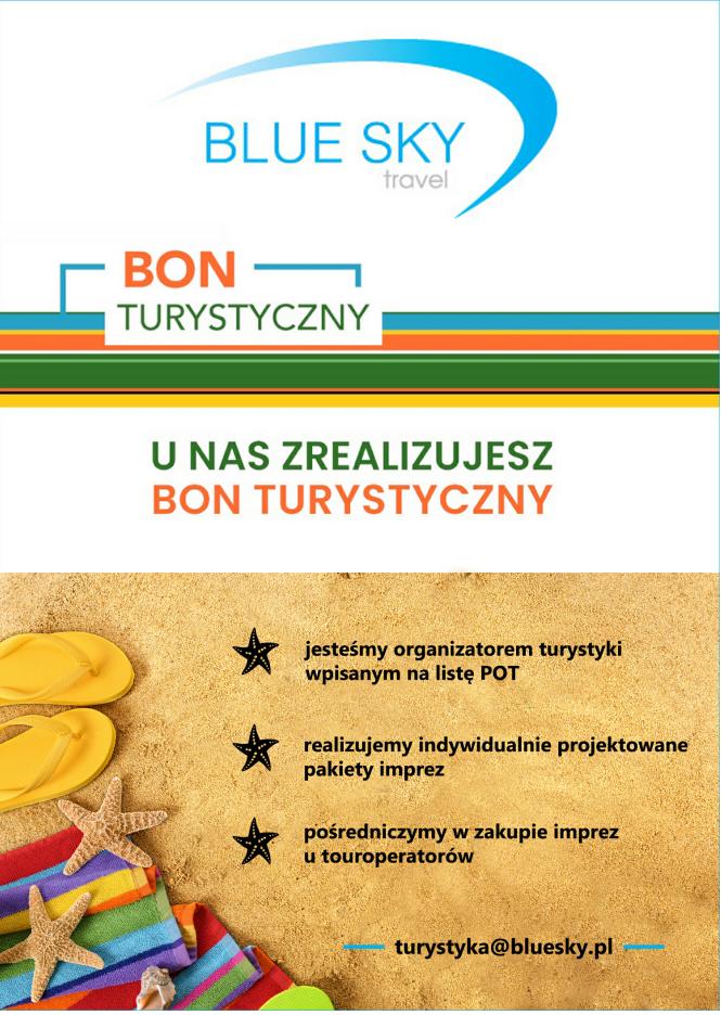 Bon turystyczny na wakacje w Polsce